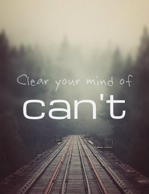 clear your mind of cant